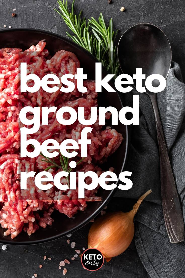 low carb ground beef keto recipes