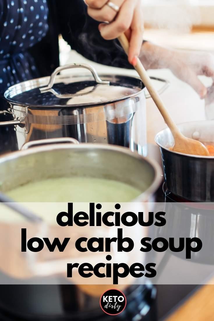 low carb soup recipes