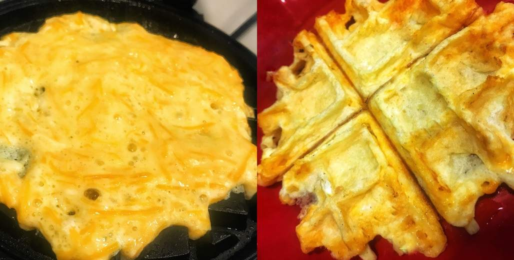chaffles low carb waffles