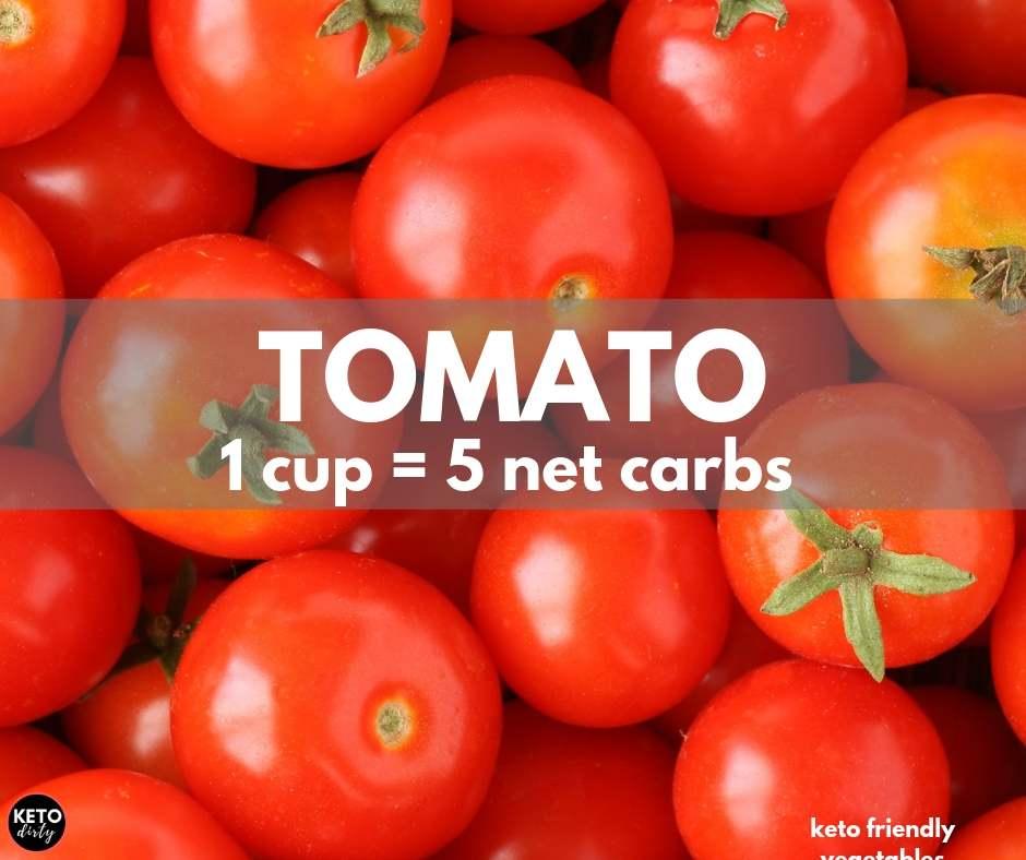 tomato 5 net carbs keto