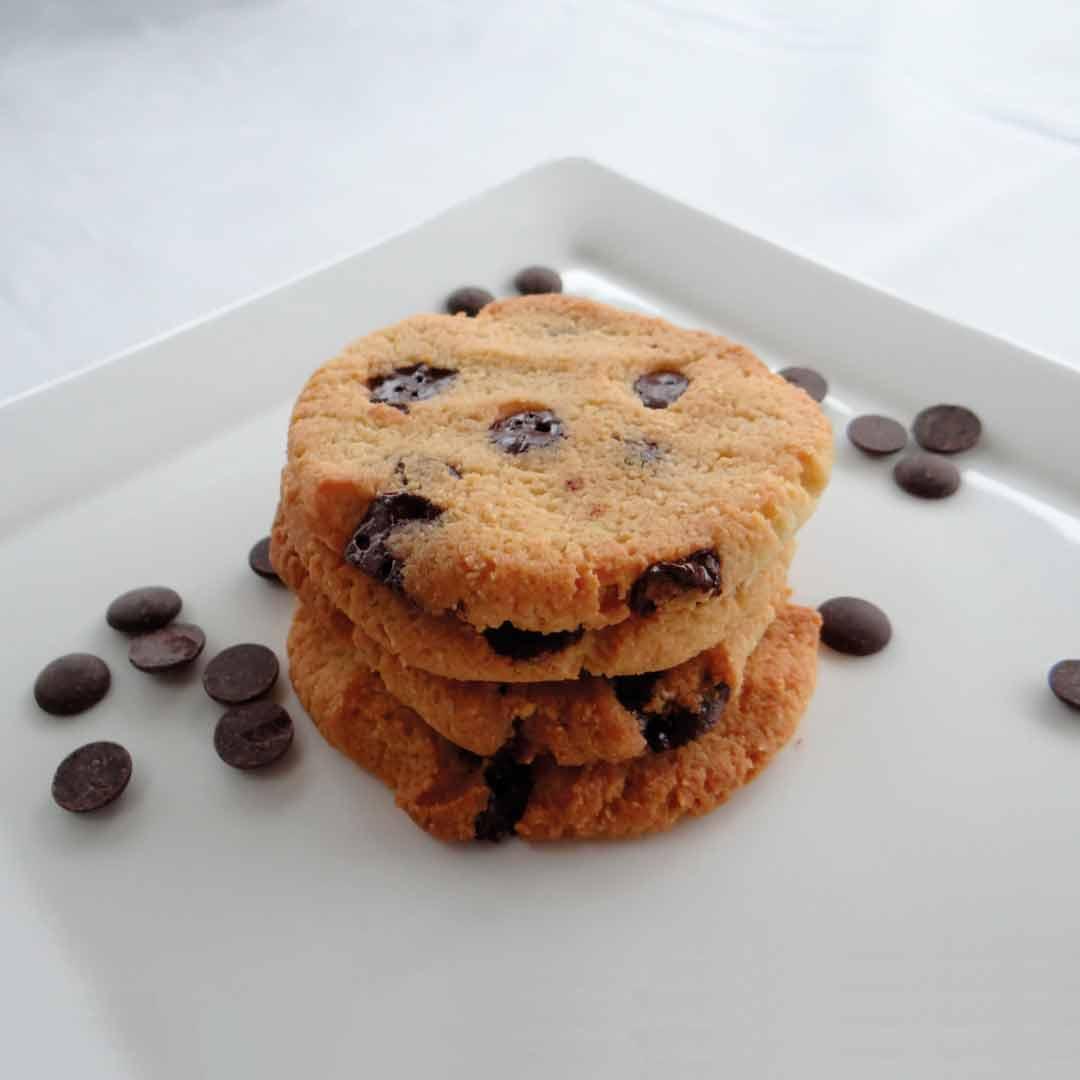 Chocolate chip cookies recept keto