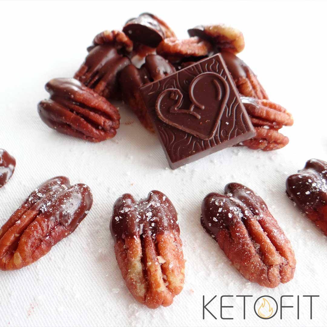 Keto chocolade pecannoten recept