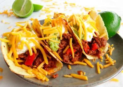 Keto Taco's met gehakt