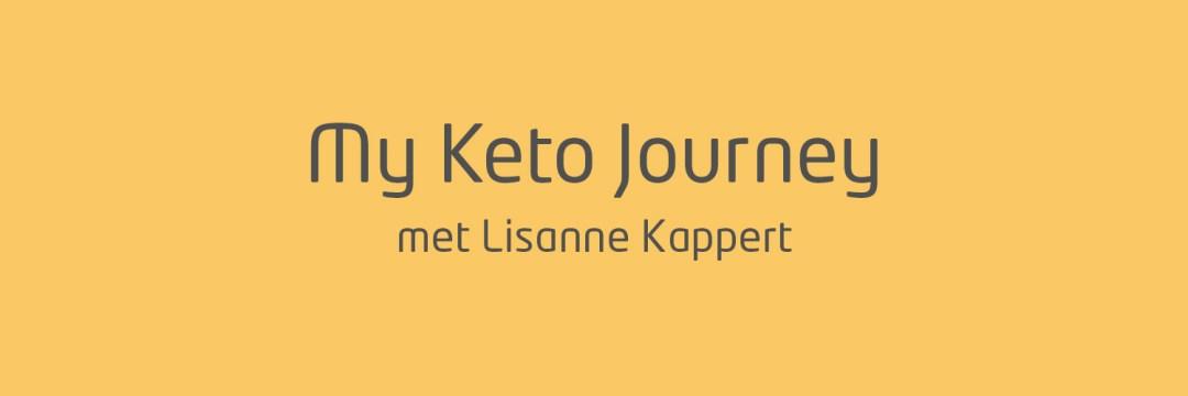 My Keto journey lisanne kappert
