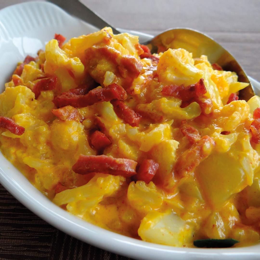 mac cheese bloemkool RECEPT KETO