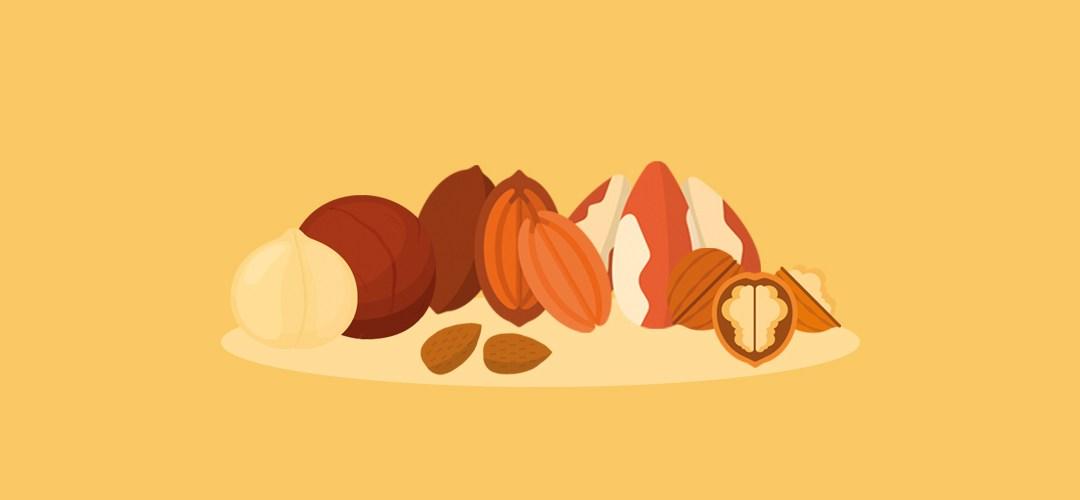 Welke noten tijdens keto