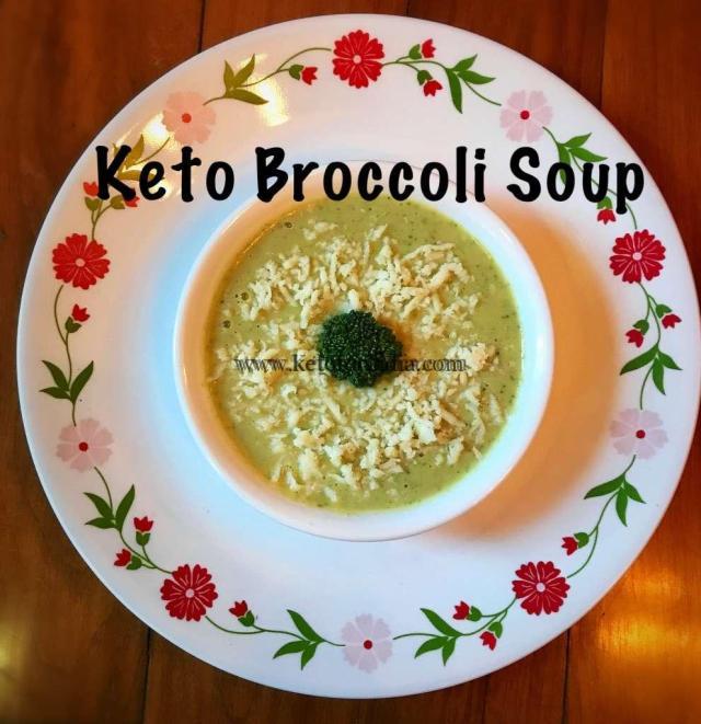 Keto Brocooli soup