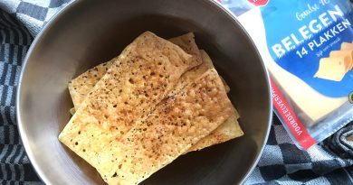 Kaascrackers maken oven
