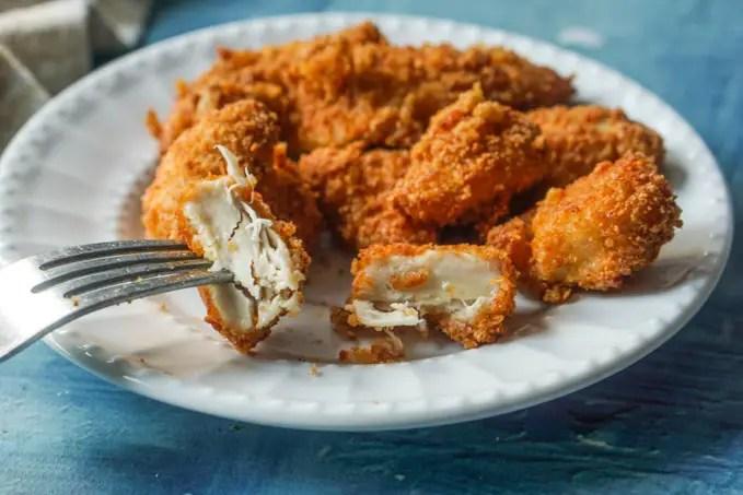 Kipnuggets maken recept