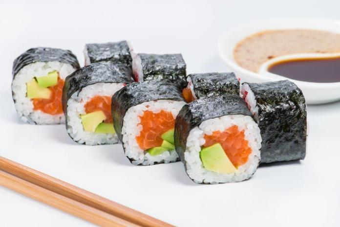 Image result for Avocado Sushi