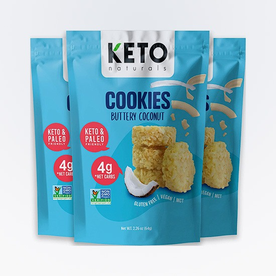 Buttery Coconut Cookies Keto Naturals