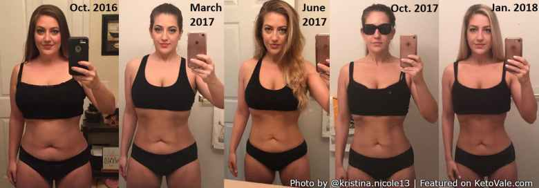 Kristina Bezenah Keto Weight Loss