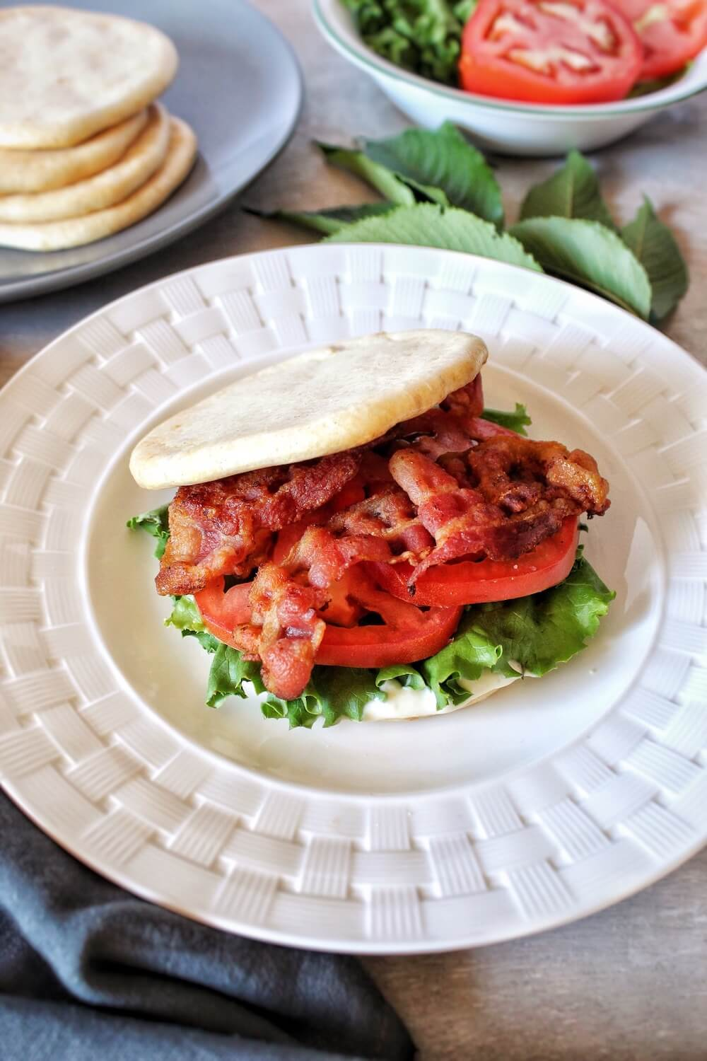 This Keto Classic BLT Sandwich recipe is simple and delicious and sure to make your mouth water.