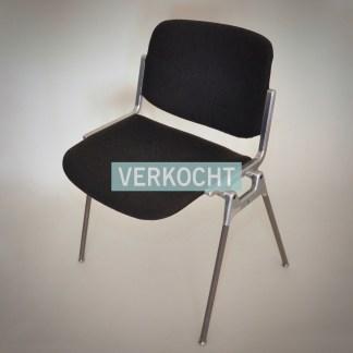 Stapelbarte vergaderstoel designstoel uit de jaren 60