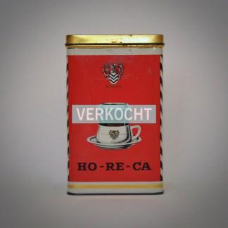 Vlaams Horecablik Koffieblik Vintage