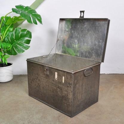 Vintage Winkel Blik Groot