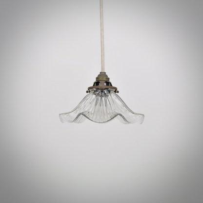 Vintage Holophane Hanglamp
