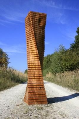 Kettensägenkunst Holzskulptur