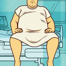Immobility due to obesity