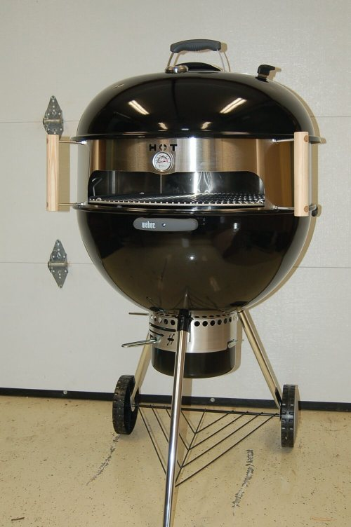 KettlePizza Installed on a Weber 26.75 Kettle Grill
