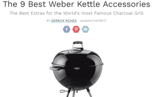 KettlePizza and Smokenator Tope Weber Kettle Accessories