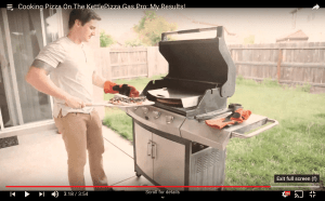 Charcoal and Gas Pizza Oven Videos