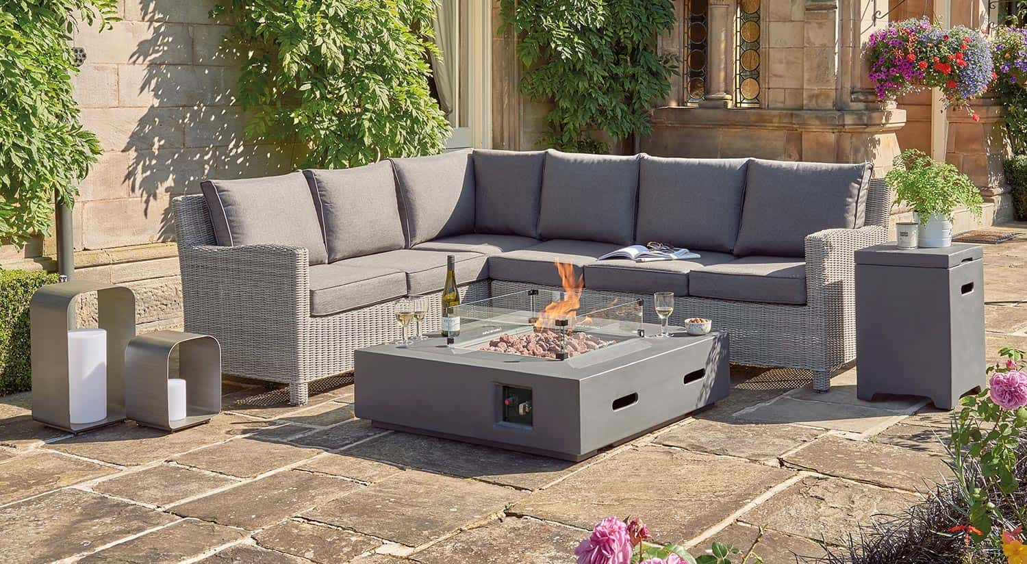 Universal Fire Pit Coffee Table 105cm Kettler Official Site