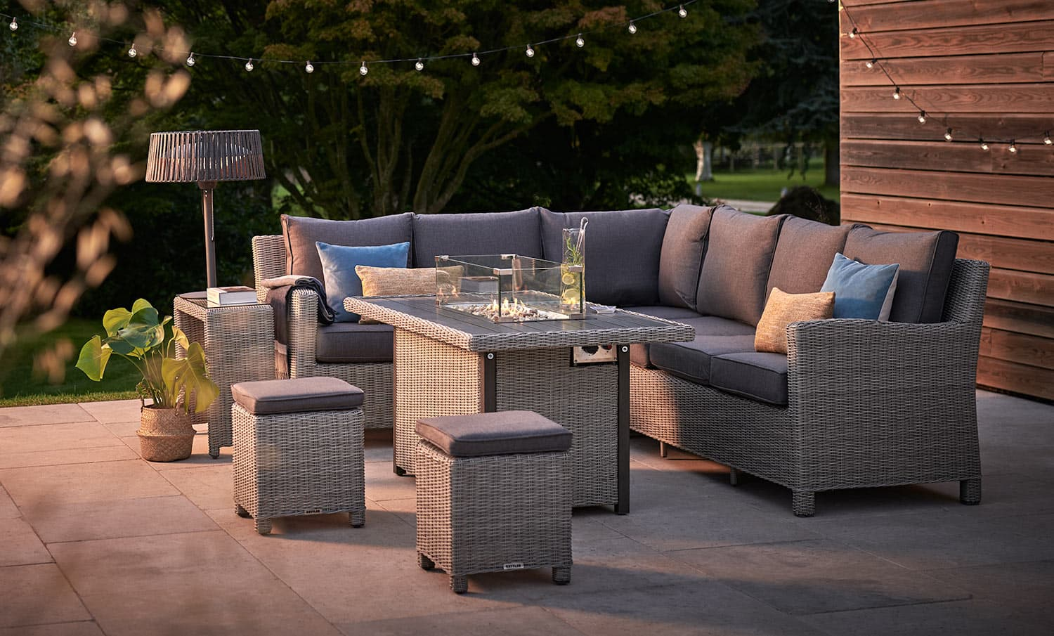 palma fire pit table kettler official