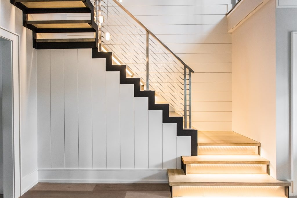 Railings For Stairs Ideas For 2019 Keuka Studios   Modern U Shaped Staircase   Design   Floating   Interior   Amazing Modern   Oval Shaped