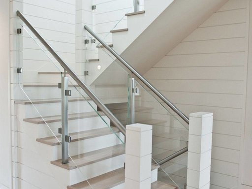 Custom Glass Railing For Stairs And Decks Keuka Studios   Glass Railing For Stairs Price   Railing Systems   Cable Railing   Alibaba   China   Wood