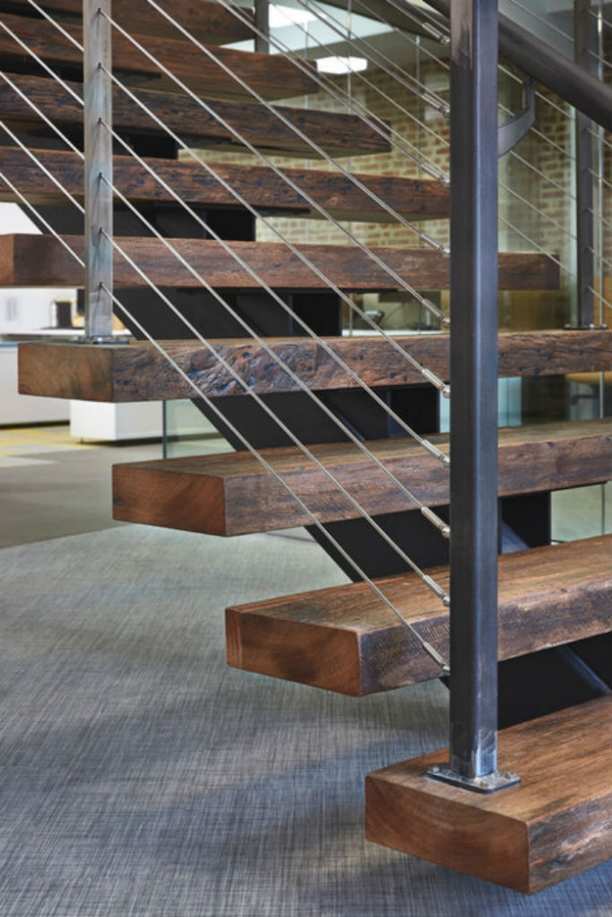 6 Types Of Stair Treads What To Know Before Choosing Various | Distressed Wood Stair Treads | Oak Stair | Bullnose Manufacturing | Straight Edge Wood | White Oak | Heavy Timber Stair