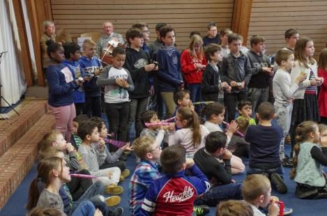 KHR - Mr Hanssenschool Afsluiting Muziekproject