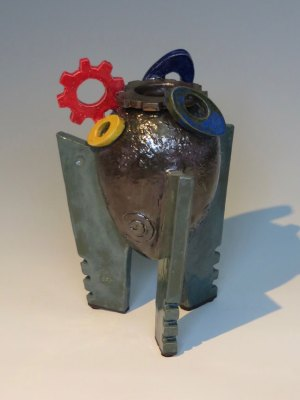 Alien Egg Vase No. 3 by Kevin Eaton