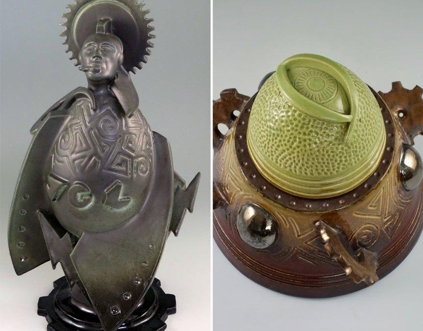 Godrocket No. 2 and Jar of Agadalek Selected for Off Center Exhibition