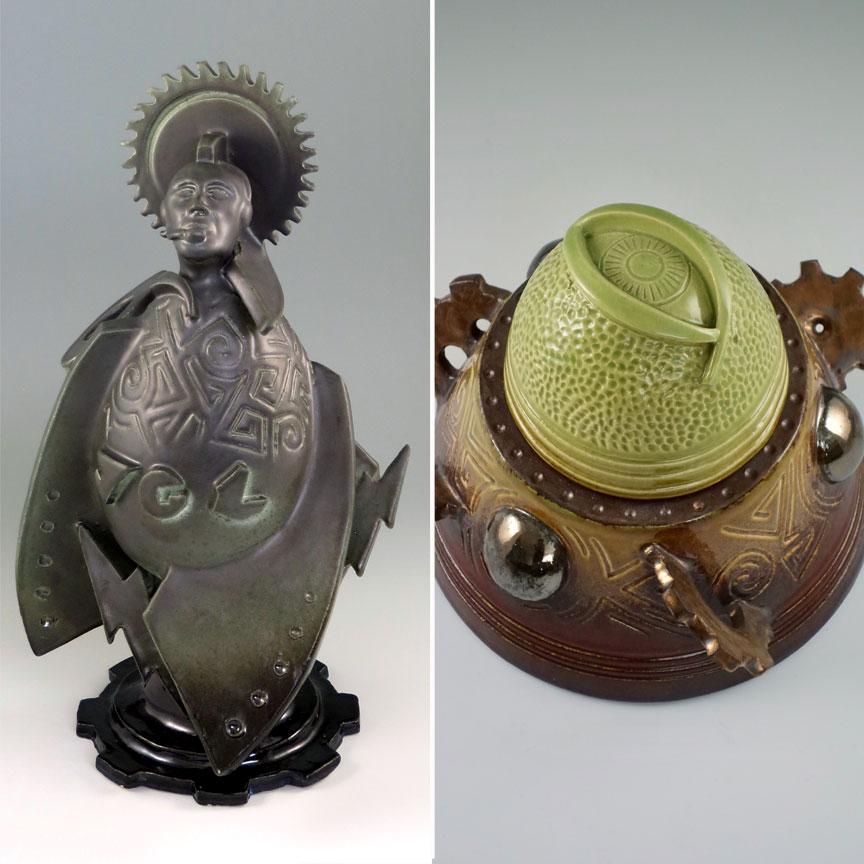 Godrocket No. 2 and Jar of Agadalek by Kevin Eaton