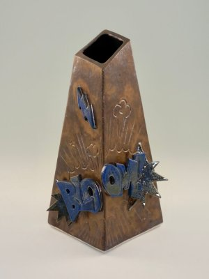 BLOOM! Vase by Kevin Eaton