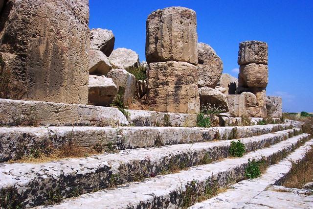 Parque arqueológico na Sicilia