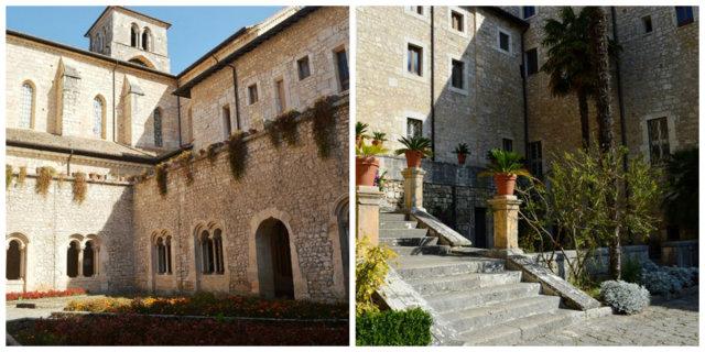 Abadia de Casamari na Itália