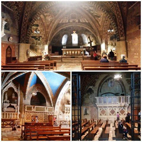 Interior da Basílica de São Francisco de Assis