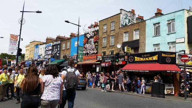 Camden High Street em Londres