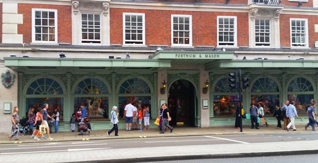 Loja de departamento em Londres