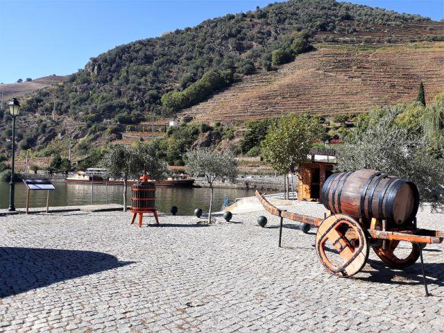cidade de Pinhão no Douro