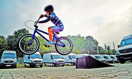 #Eurobike: Kids go crazy for e-mountain bikes