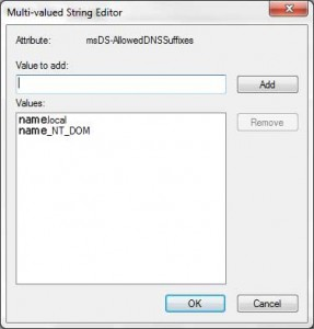 Multi Value String Editor