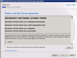 System Center VMM 2012 - License