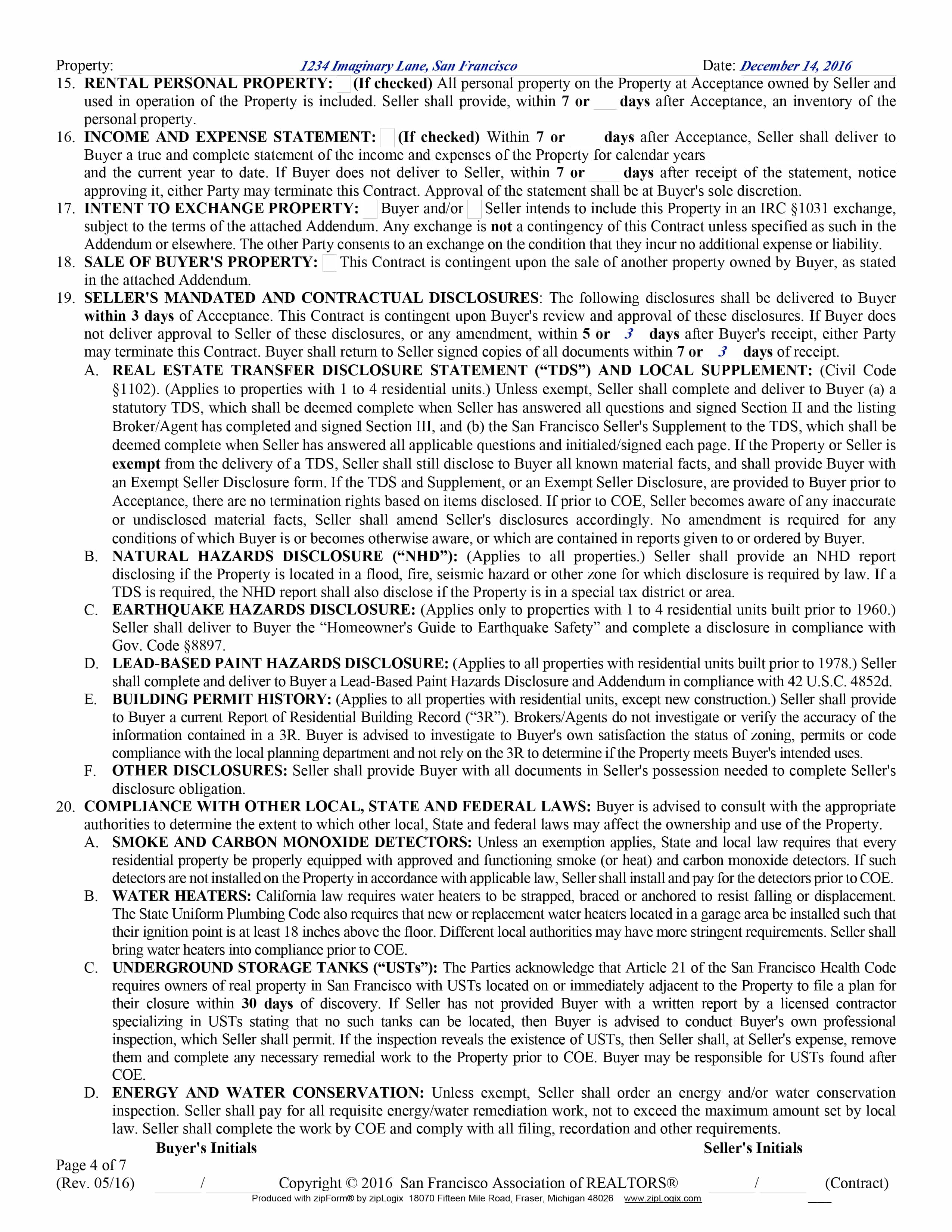 Doc575709 Property Purchase Agreement Template Real Estate – Purchase Agreement Contract