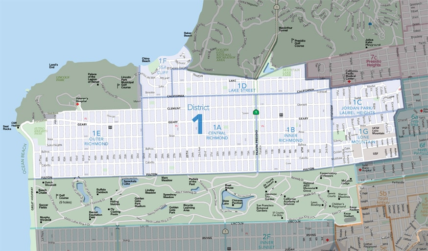 San Francisco's Richmond District as told by Kevin+Jonathan, Vanguard Properties: MLS District 1