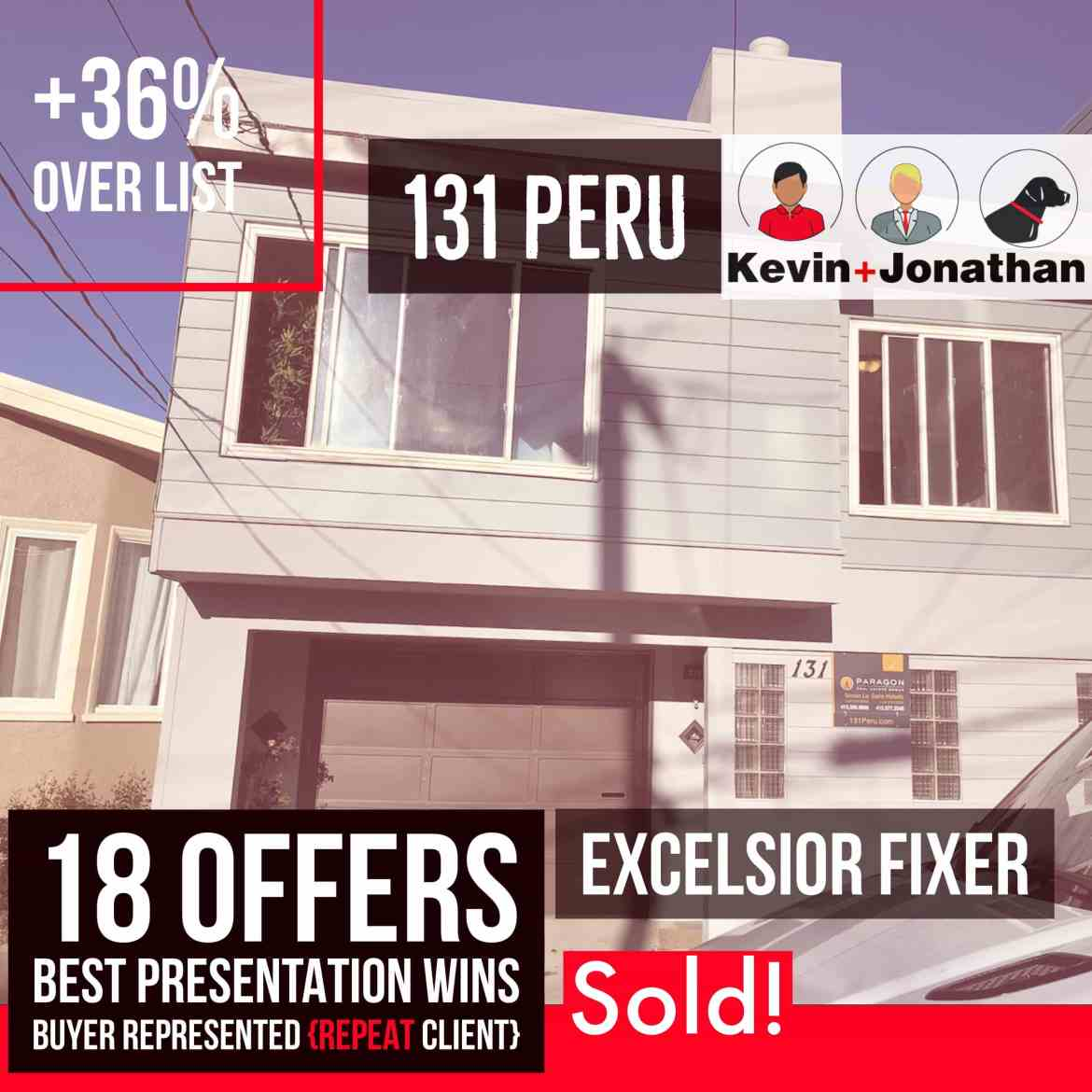 131 Peru — Sold! Buyer Represented