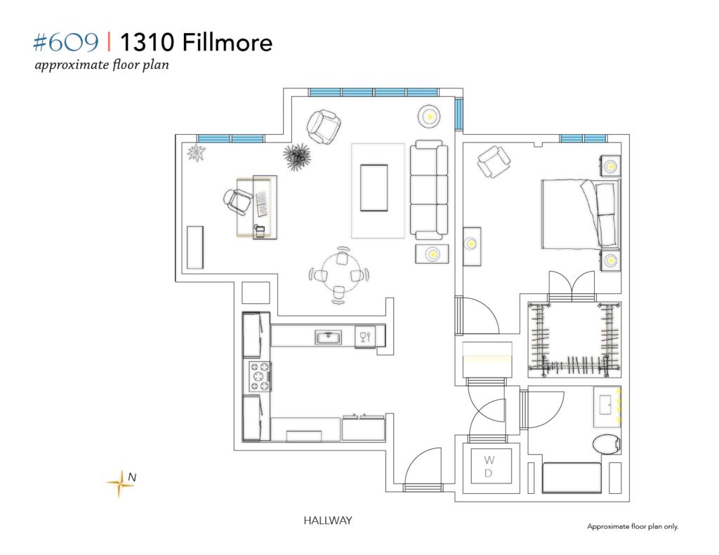1310 Fillmore #609