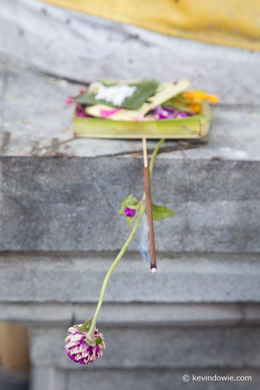 An offering, Bali